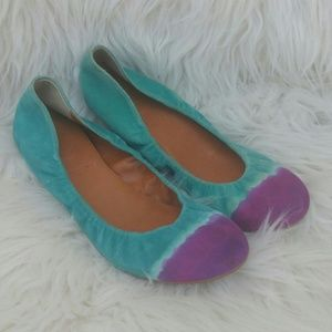 Anthropologie Leifnotes Suede Shoes size 39